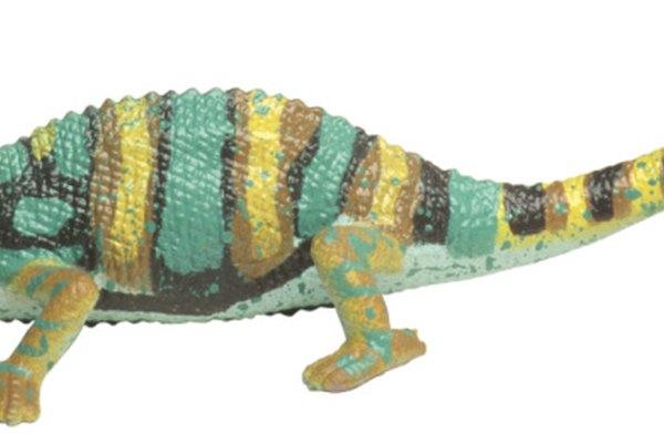 La pintura de camaleón puede causar varios cambios de color en su capa intermedia.