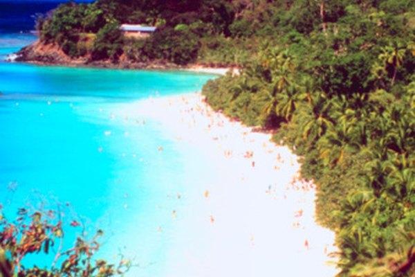 Las Islas Vírgenes de Estados Unidos son el hogar de recursos naturales únicos.