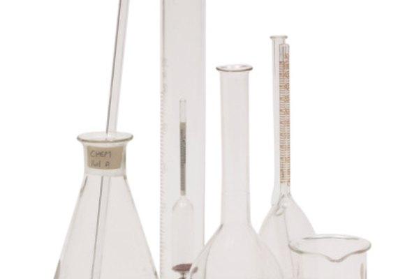 Los agitadores de vidrio son huecos y sólidos.