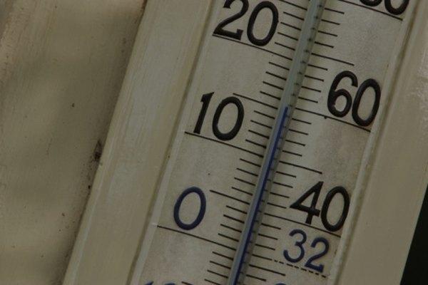 Cuando está por debajo de los 32 grados Fahrenheit, está debajo del 0 en la escala Celsius.