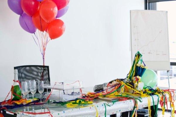 Los globos agregan color y diversión a las fiestas.