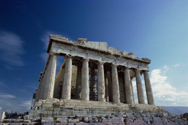 La Acrópolis es un remanente de la antigua Atenas.
