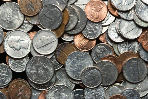 Las monedas de cinco centavos de dólar contienen cerca de un cuarto de níquel.