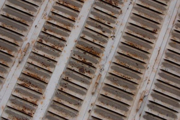Las cubiertas de la ventilación atraen tierra.