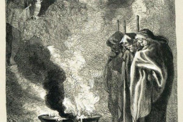 Las brujas en Macbeth de Shakespeare hicieron las profecías.