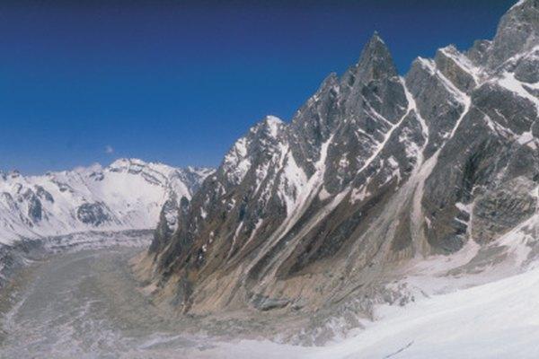 Se produce poca actividad volcánica en el Himalaya con la excepción del Kunlun.