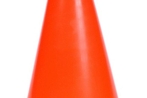 Si golpeas un cono, automáticamente pierdes la prueba de maniobrabilidad.