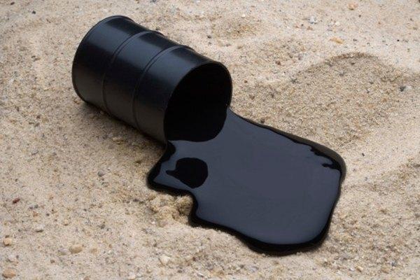 El petróleo crudo suele medirse en barriles.