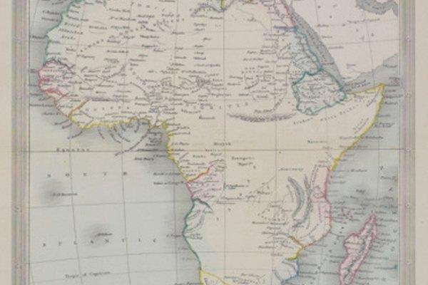 Muchas potencias europeas colonizaron África durante el siglo XIX.
