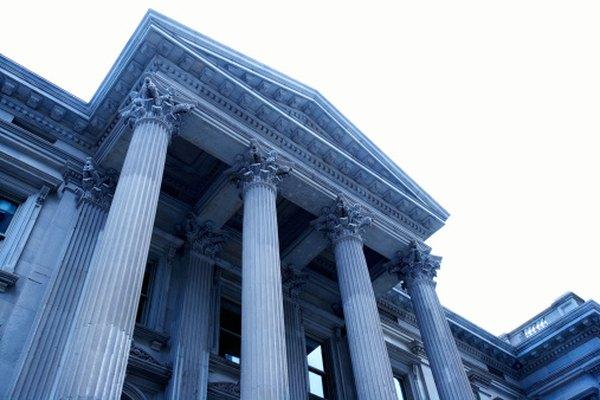Puedes ver muchos tipos diferentes de columnas a través de Norteamérica y Europa, entre otros continentes.