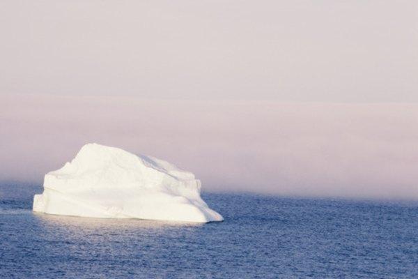 Algunos glaciares proporcionan evidencia de que las corrientes oceánicas se han detenido en el pasado.