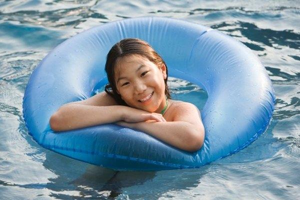 No dejes que una fuga estropee tu tiempo en una piscina inflable.