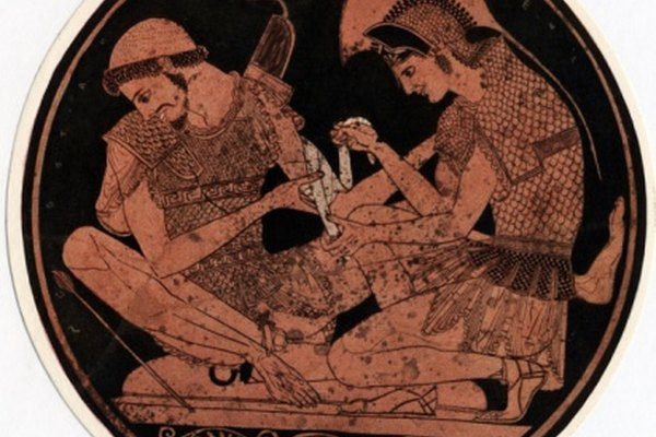 Homero inmortalizó a personajes como Aquiles.