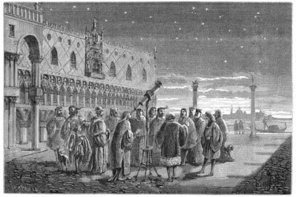 Galileo fue el primer astrónomo en construir un telescopio lo suficientemente fuerte como para observar la verdadera naturaleza de los planetas.