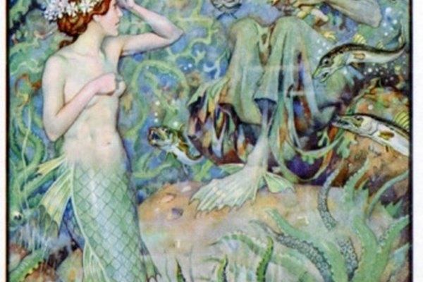 La Sirenita de Disney estaba basada en el cuento de hadas de Hans Christian Andersen.