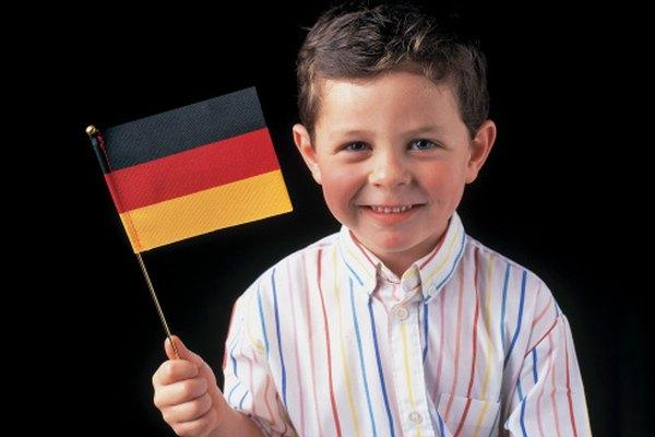 Enseña a los niños de ascendencia alemana sobre los instrumentos tradicionales de esta nación.