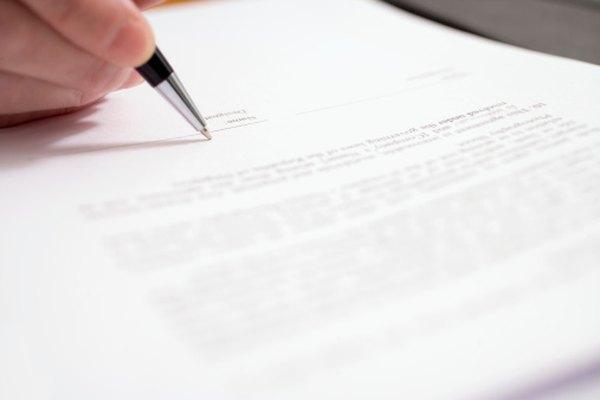 Las cartas de prueba de residencia deben ser claras y concisas.