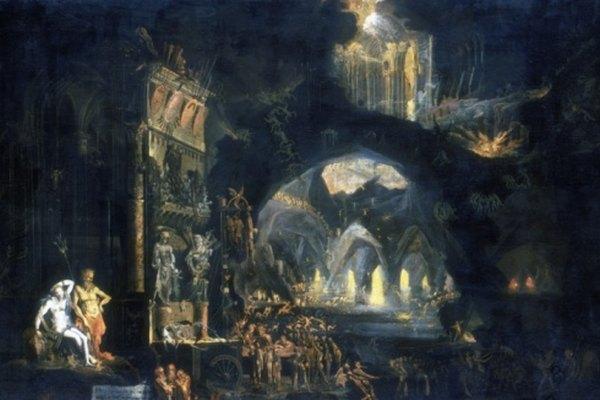 Las pinturas barrocas a menudo se enfocan en el uso de la luz.