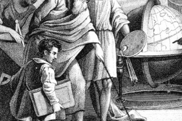 Pitágoras fue un filósofo y matemático de la Antigua Grecia.