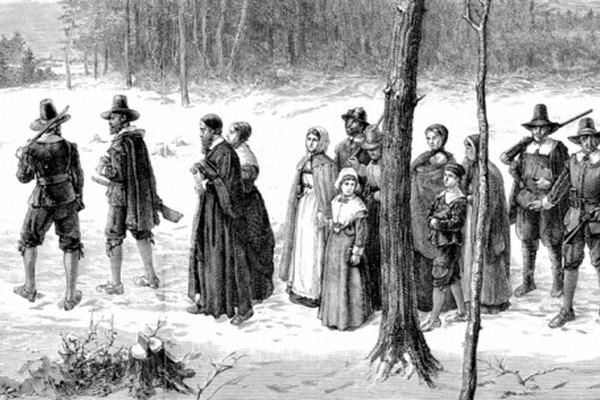 Los primeros colonos viajaron a Estados Unidos para mejorar sus vidas.