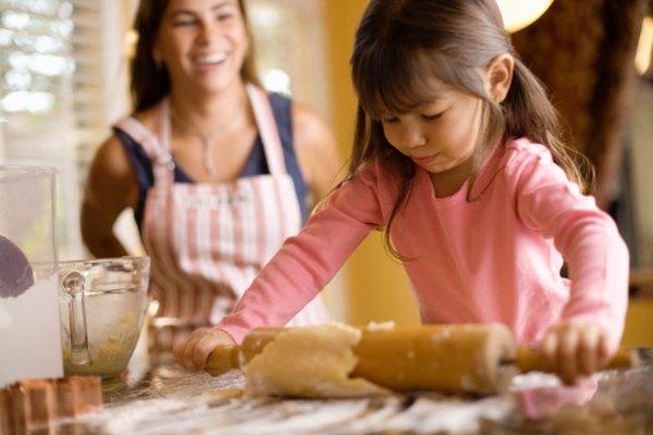Puedes crear masa de sal con ingredientes comunes de tu cocina.