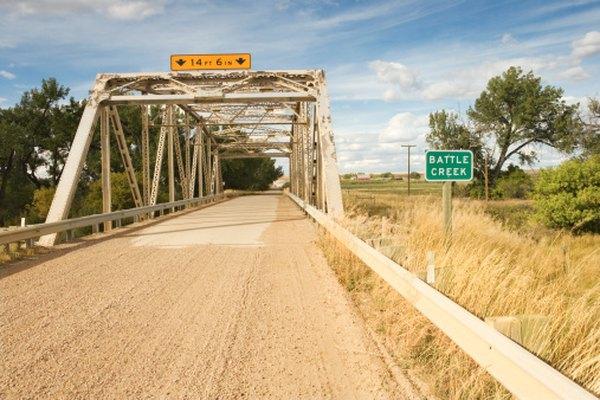 El puente Battle Creek de Montana cumplió su centésimo aniversario en el 2011.