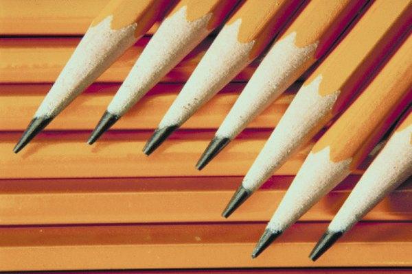 La punta de un lápiz es uno de los ejemplos de un ángulo agudo en el mundo real.