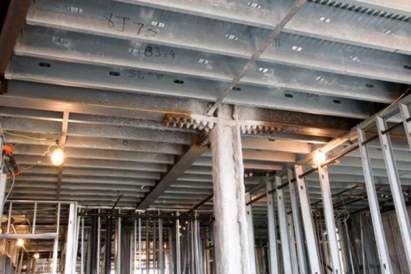 El acero se utiliza para la mayoría de los proyectos de construcción debido a que es rentable.