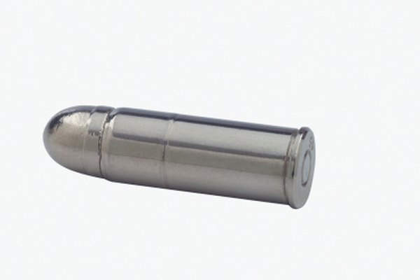 Los metales en las balas pueden diferir de un tipo de munición a otro.