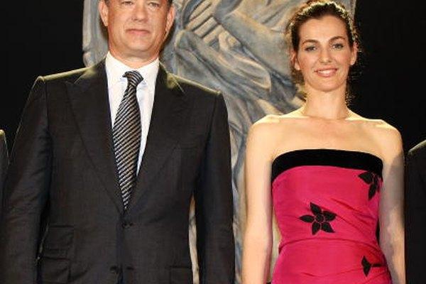Las estrellas Tom Hanks y Ayelet Zurer promocionando la película