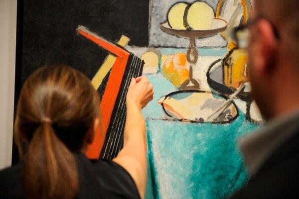 Matisse solía pintar objetos cotidianos.