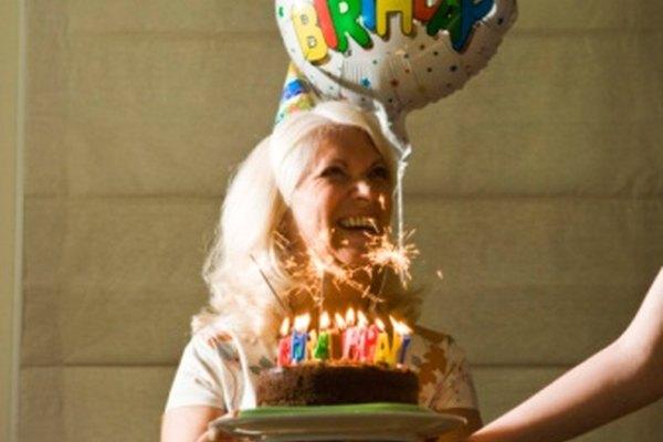 Cómo hacer un programa para la celebración de un cumpleaños número 70.