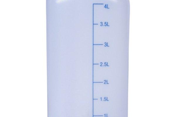 Los lítros métricos pueden ser convertidos fácilmente en centímetros cúbicos.
