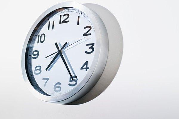 Cada hora contiene 60 minutos.