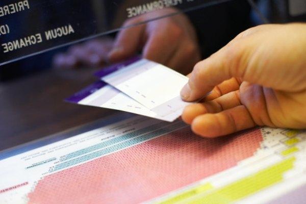 Las entradas de admisión general se utilizan en los cines de todo el mundo.