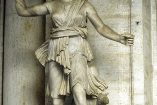 Artemisa generalmente se ilustra en el antiguo arte griego.