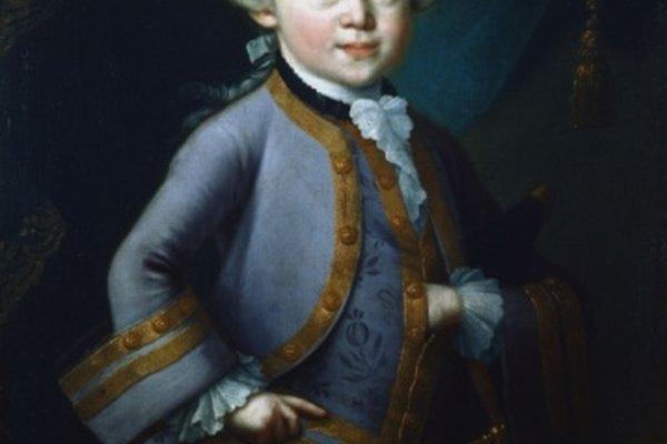 Mozart fue un gran compositor de óperas y música sinfónica.