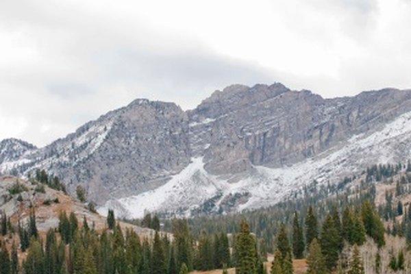 Esta área alpina es un ejemplo de un ecosistema.