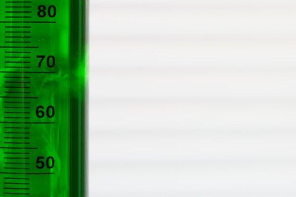Hay una variedad de tipos de probetas graduadas para medir el volumen de los líquidos.