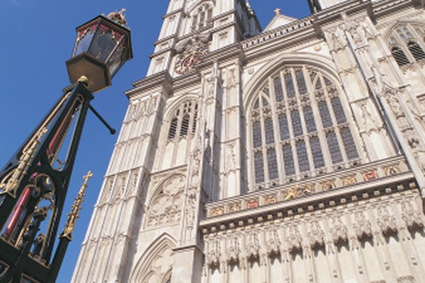 Las catedrales góticas tienen ciertas características distintivas.