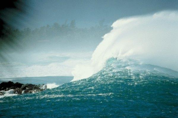 Una ola se puede dividir y explicar por partes.