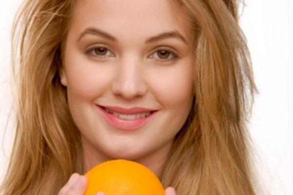 La piel de naranja es saludable para ti y buena para el compost del jardín.