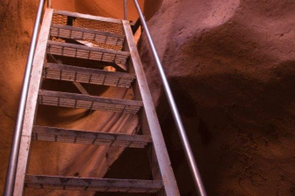 El ANSI clasifica los diferentes tipos de escaleras según su altura y función.