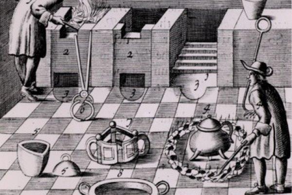 Los alquimistas han trabajado con oro y otros metales desde la Edad Media.