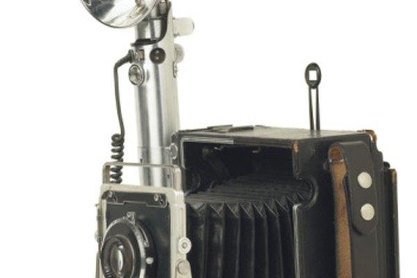 En los viejos tiempos, quemar de magnesio generaba la luz para los flashes de las cámaras.