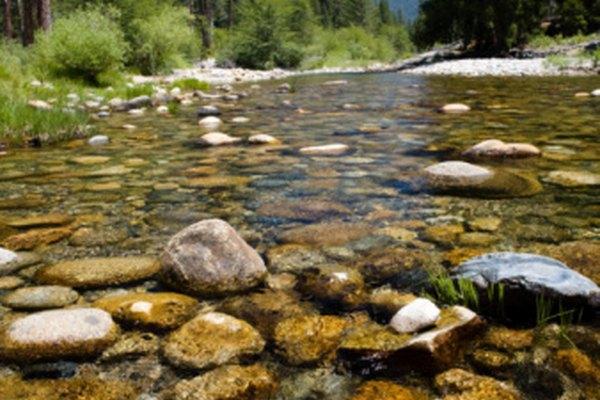 La belleza de la región montañosa de California atrae mucho al turismo.