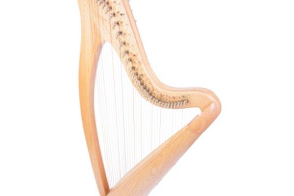 Las arpas vienen en la forma tradicional y de caja.