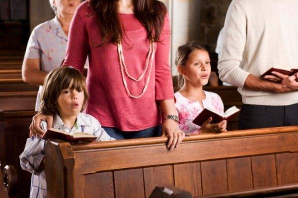 Además de cantar rezos, mucha gente disfruta de venerar a través de la música.