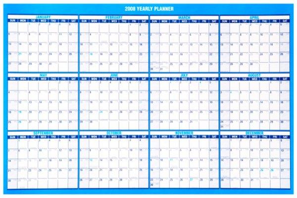 Crea un calendario para ayudar a los estudiantes de preescolar a aprender los meses del año.