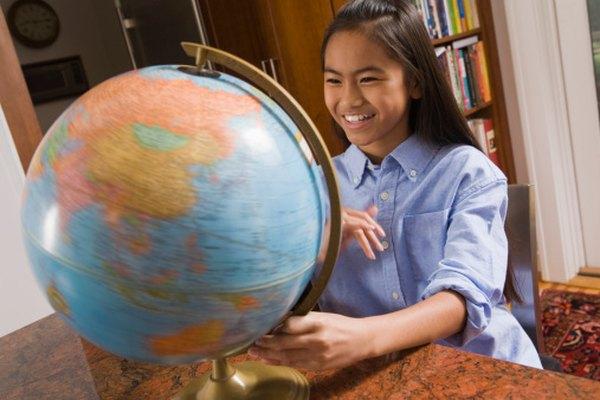 Solamente dos continentes están completamente en el hemisferio norte.